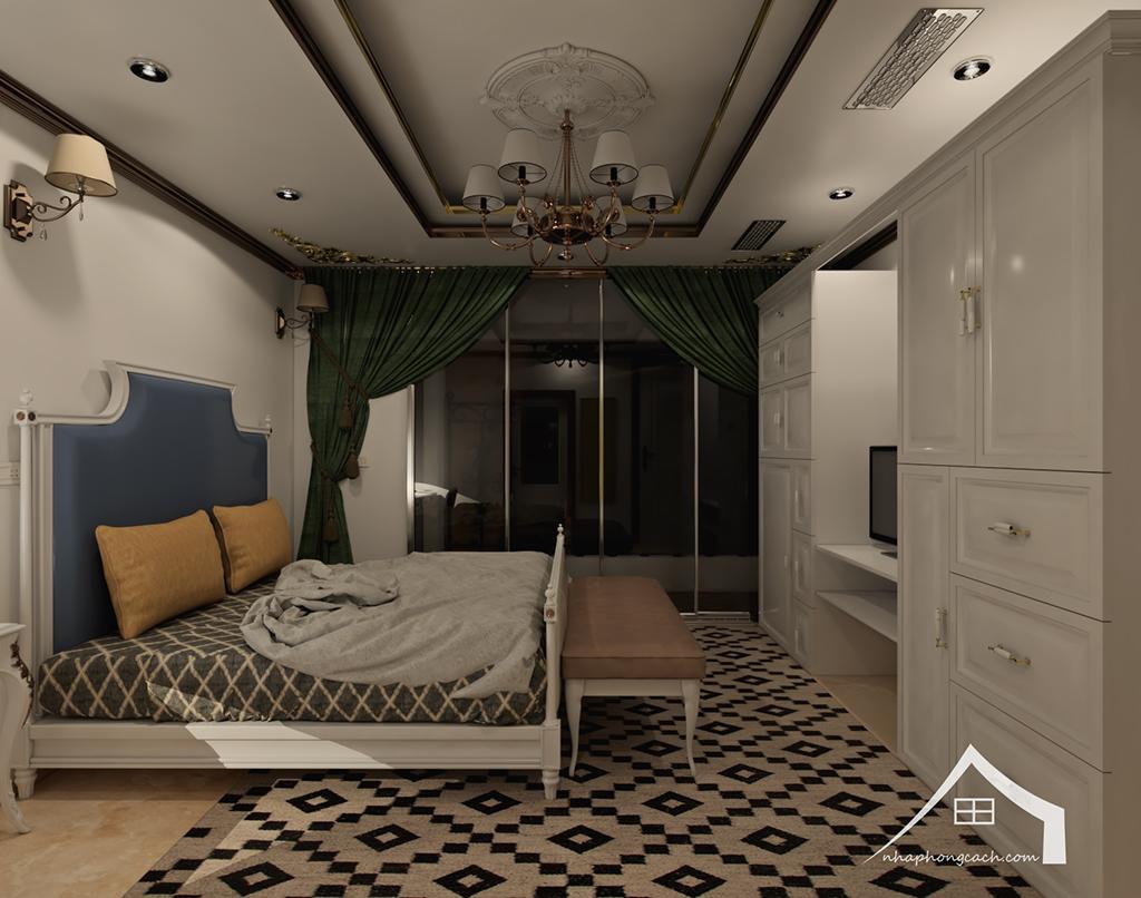Thiết kế nội thất tân cổ điển cho chung cư Times City căn 02&16 tòa T2- 97m2 16