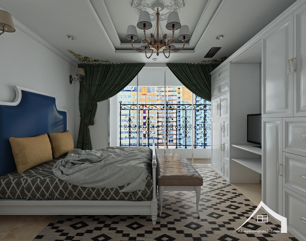 Thiết kế nội thất tân cổ điển cho chung cư Times City căn 02&16 tòa T2- 97m2 17