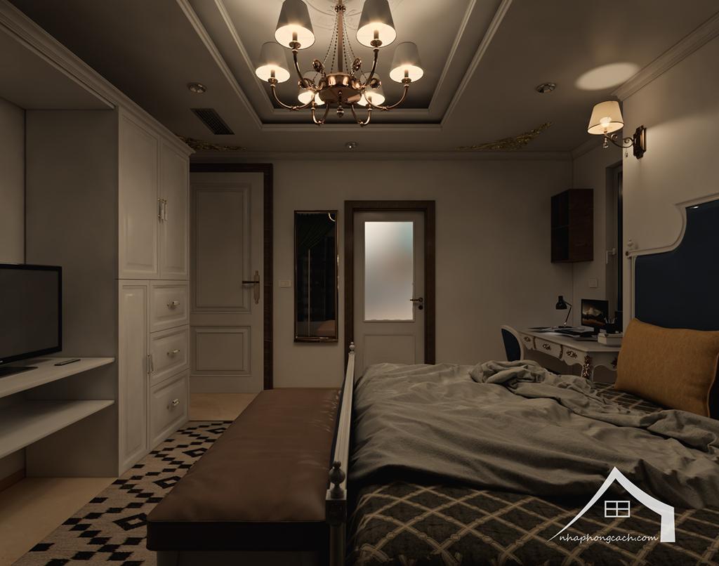 Thiết kế nội thất tân cổ điển cho chung cư Times City căn 02&16 tòa T2- 97m2 19