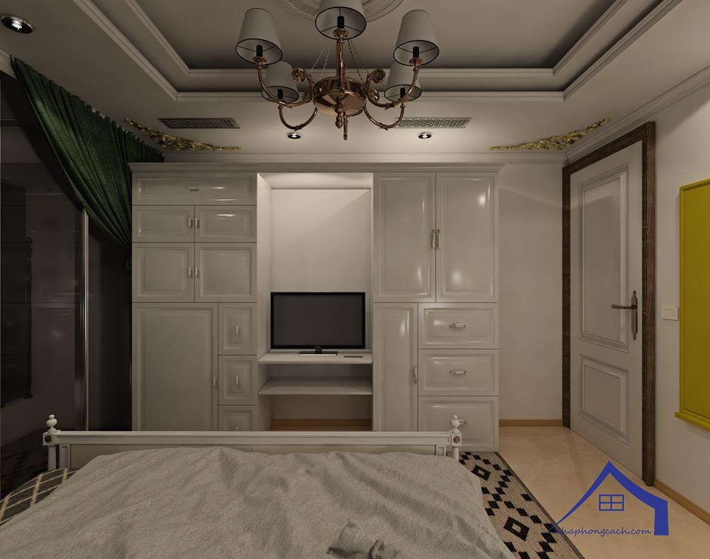 Thiết kế nội thất tân cổ điển cho chung cư Times City căn 02&16 tòa T2- 97m2 20