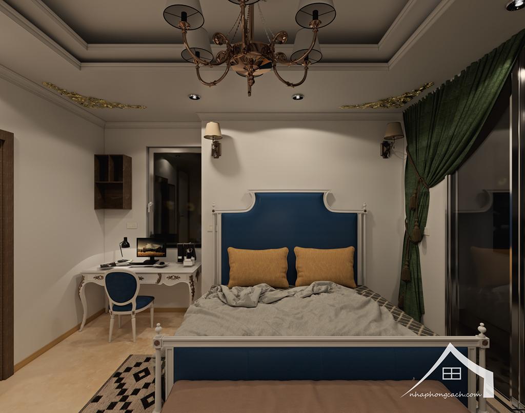 Thiết kế nội thất tân cổ điển cho chung cư Times City căn 02&16 tòa T2- 97m2 22