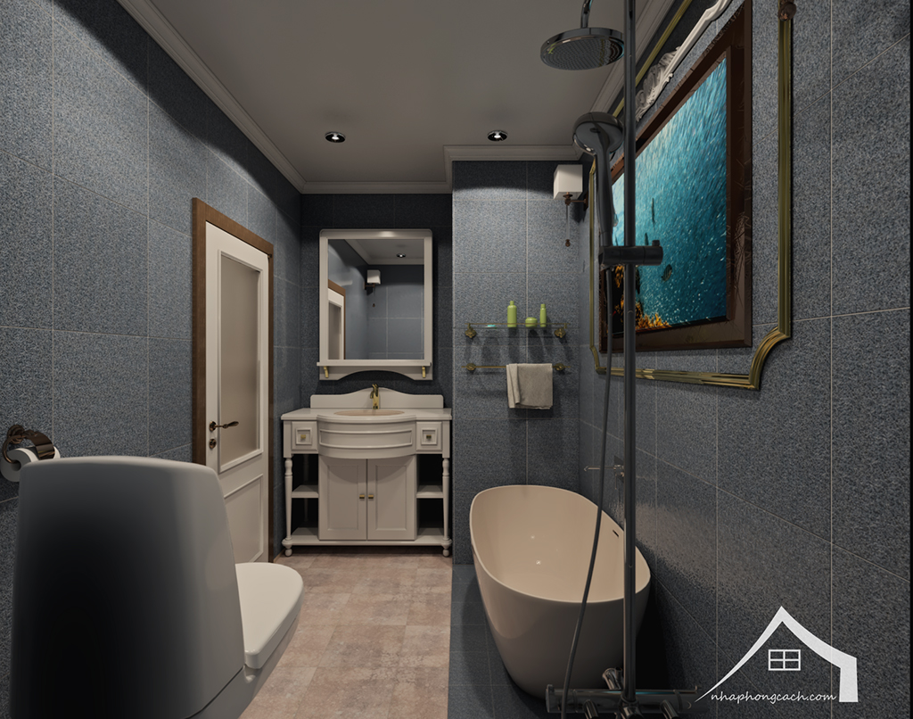 Thiết kế nội thất tân cổ điển cho chung cư Times City căn 02&16 tòa T2- 97m2 23