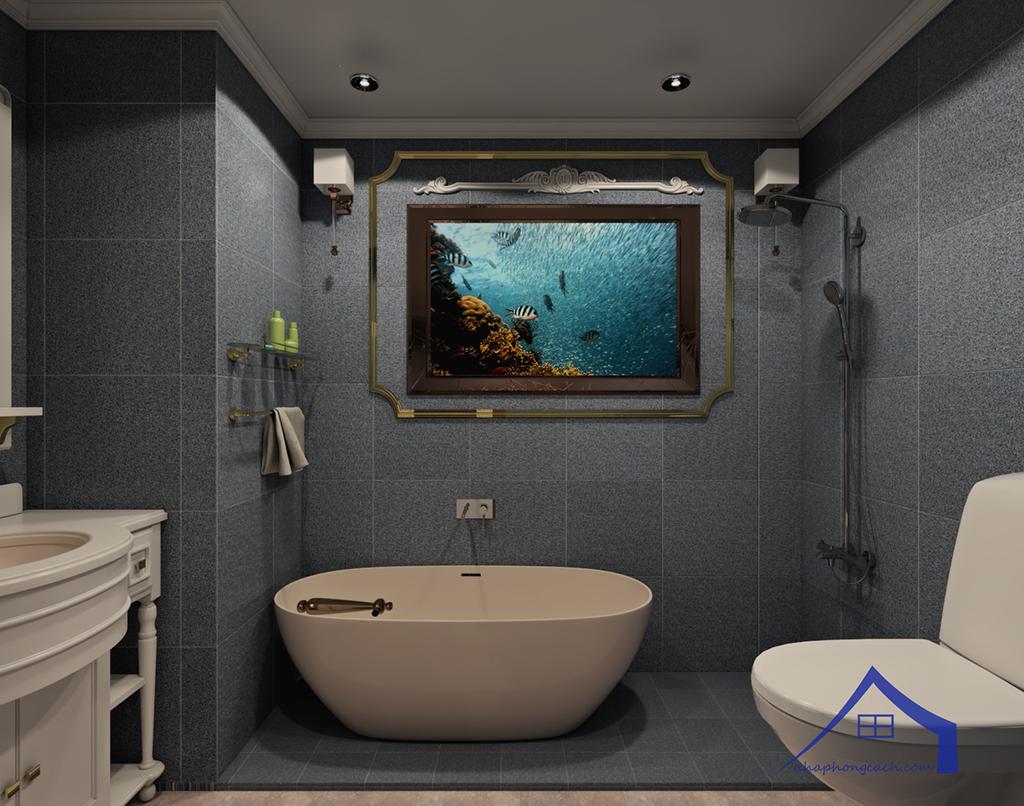 Thiết kế nội thất tân cổ điển cho chung cư Times City căn 02&16 tòa T2- 97m2 24