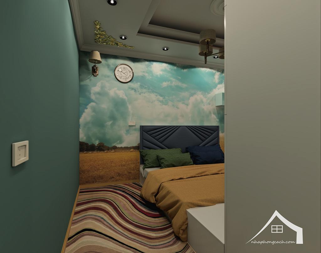 Thiết kế nội thất tân cổ điển cho chung cư Times City căn 02&16 tòa T2- 97m2 25