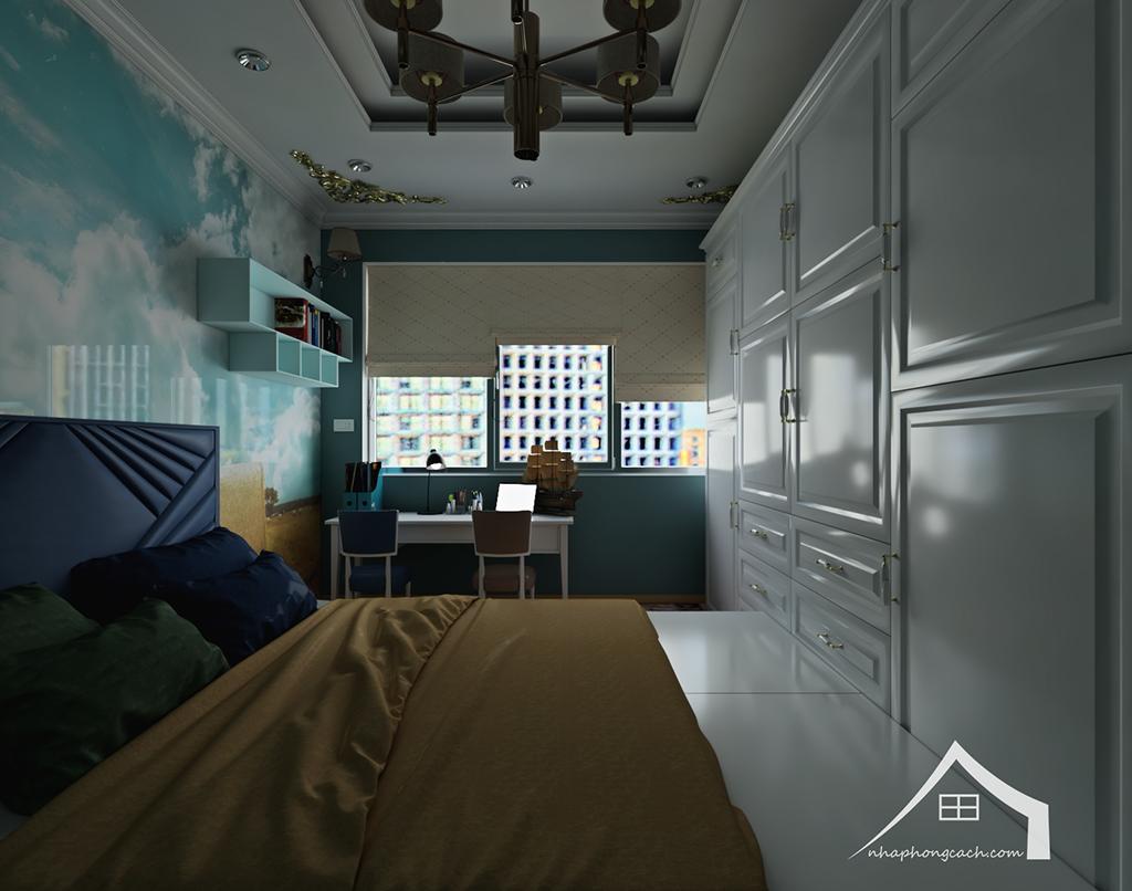 Thiết kế nội thất tân cổ điển cho chung cư Times City căn 02&16 tòa T2- 97m2 27