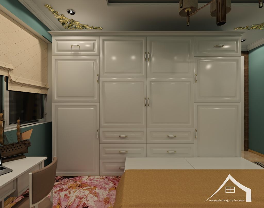 Thiết kế nội thất tân cổ điển cho chung cư Times City căn 02&16 tòa T2- 97m2 29