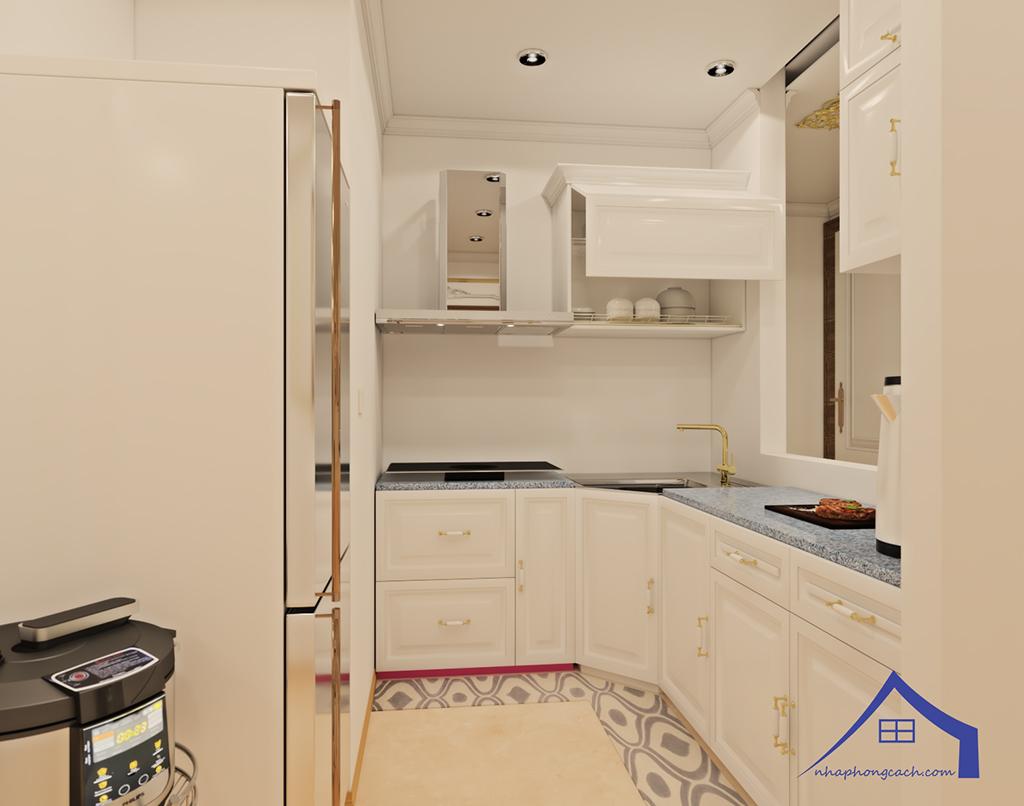 Thiết kế nội thất tân cổ điển cho chung cư Times City căn 02&16 tòa T2- 97m2 3