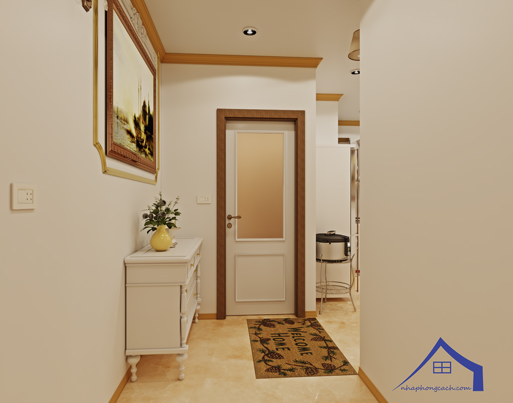 Thiết kế nội thất tân cổ điển cho chung cư Times City căn 02&16 tòa T2- 97m2