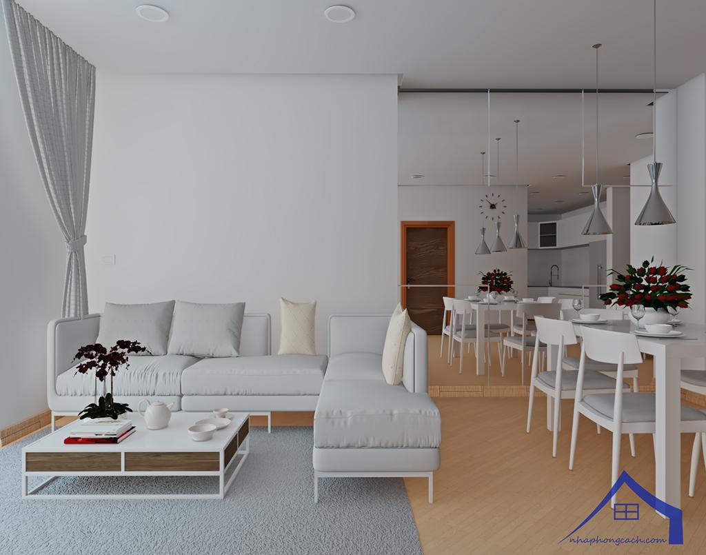 Thiết kế nội thất tối giản chung cư Times City căn 04 & 12 diện tích 95m2 13