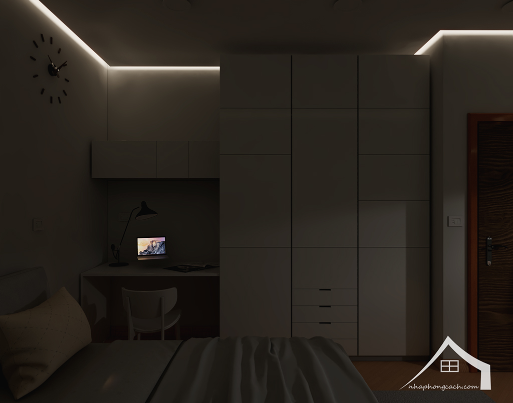 Thiết kế nội thất tối giản chung cư Times City căn 04 & 12 diện tích 95m2 18