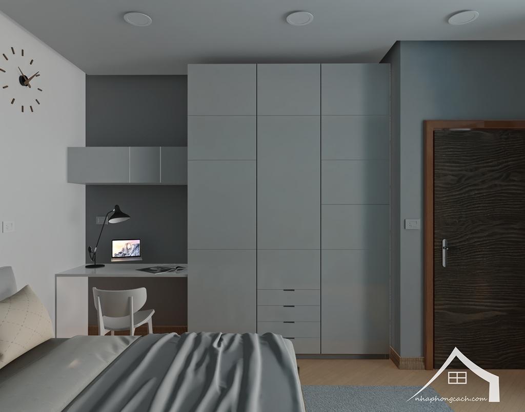 Thiết kế nội thất tối giản chung cư Times City căn 04 & 12 diện tích 95m2 19