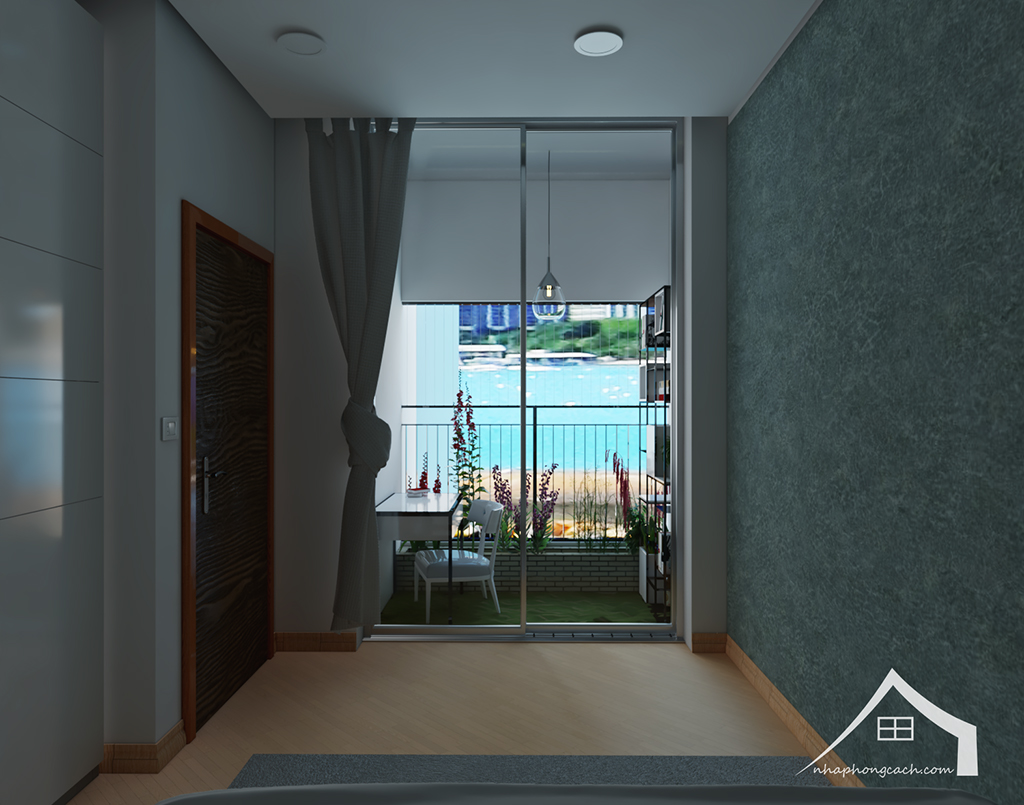 Thiết kế nội thất tối giản chung cư Times City căn 04 & 12 diện tích 95m2 20