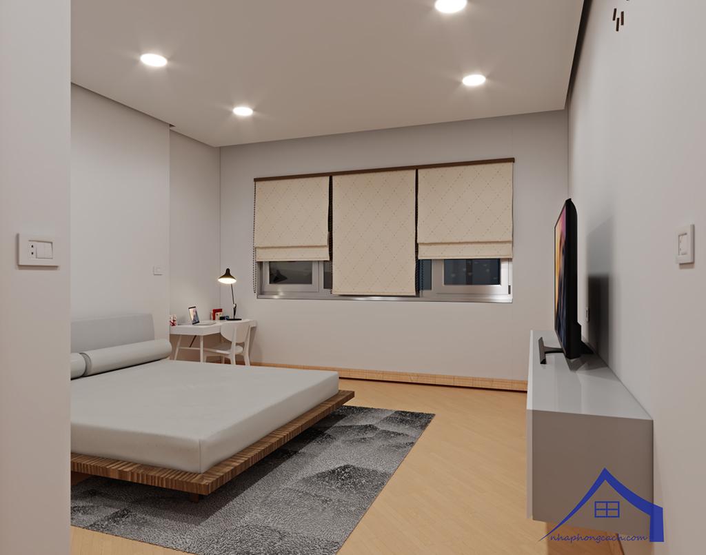 Thiết kế nội thất tối giản chung cư Times City căn 04 & 12 diện tích 95m2 22