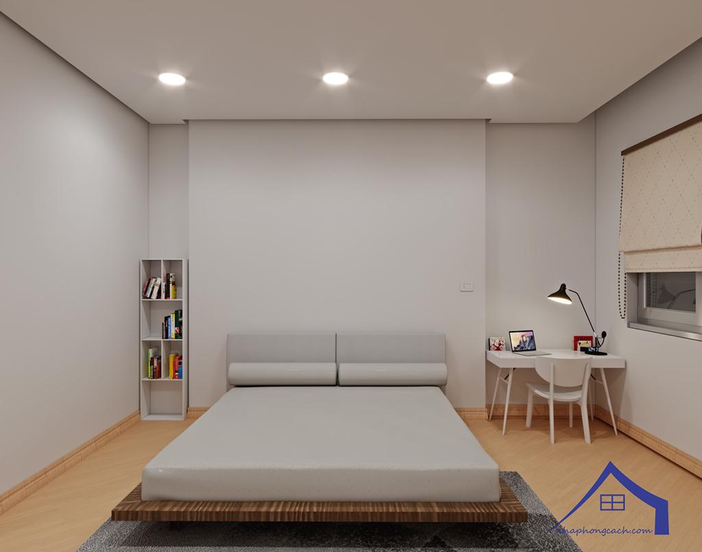 Thiết kế nội thất tối giản chung cư Times City căn 04 & 12 diện tích 95m2 24