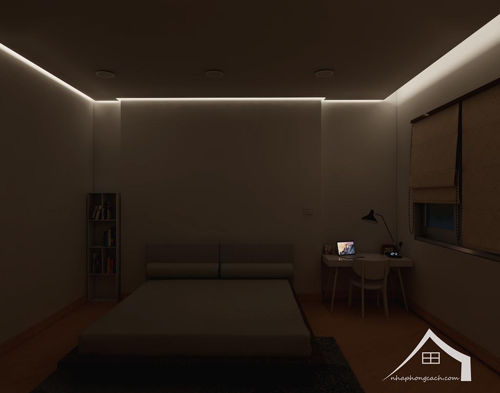 Thiết kế nội thất tối giản chung cư Times City căn 04 & 12 diện tích 95m2 26