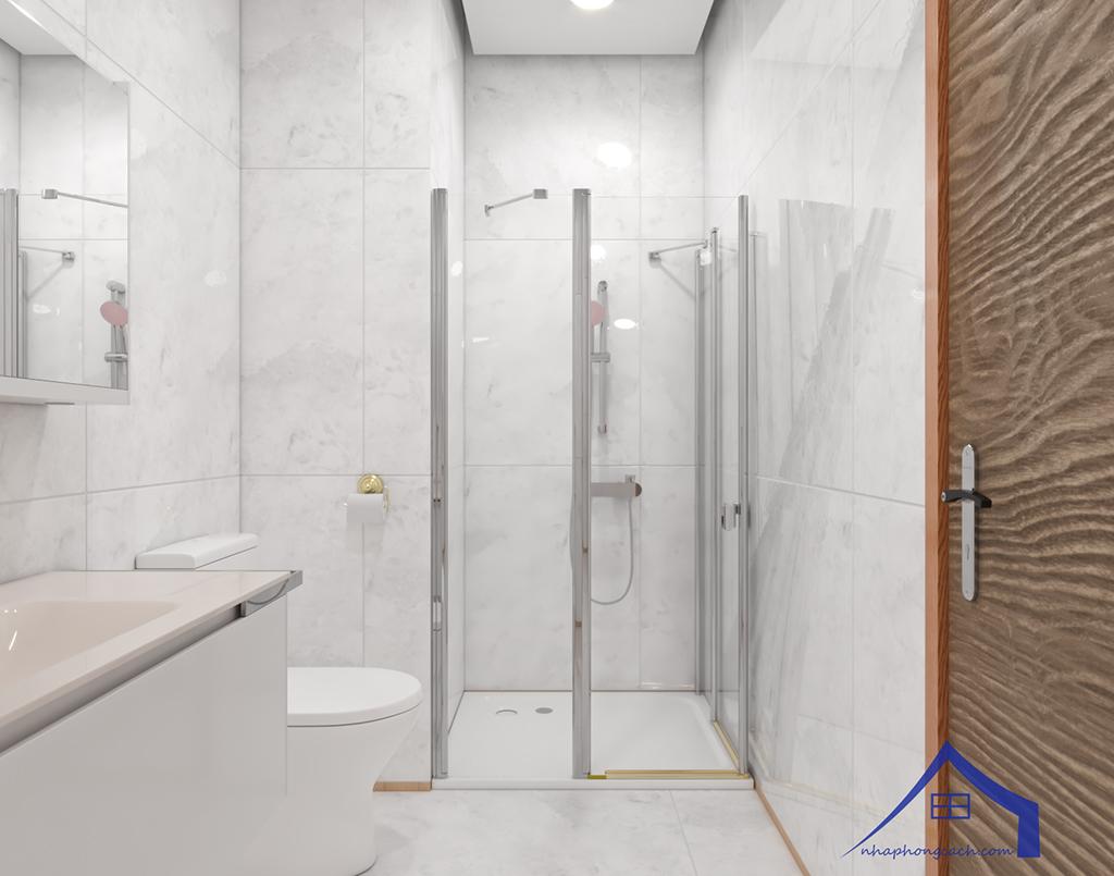 Thiết kế nội thất tối giản chung cư Times City căn 04 & 12 diện tích 95m2 29