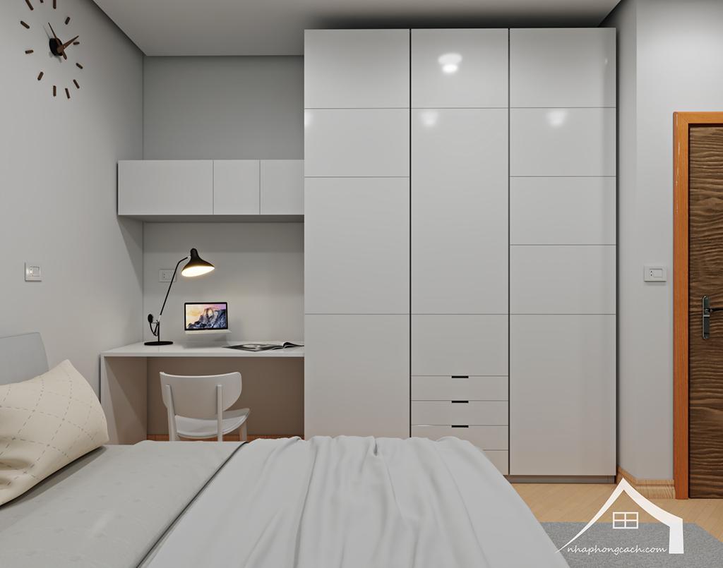 Thiết kế nội thất tối giản chung cư Times City căn 04 & 12 diện tích 95m2 31