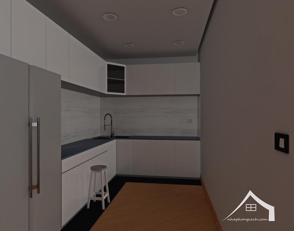 Thiết kế nội thất tối giản chung cư Times City căn 04 & 12 diện tích 95m2 6