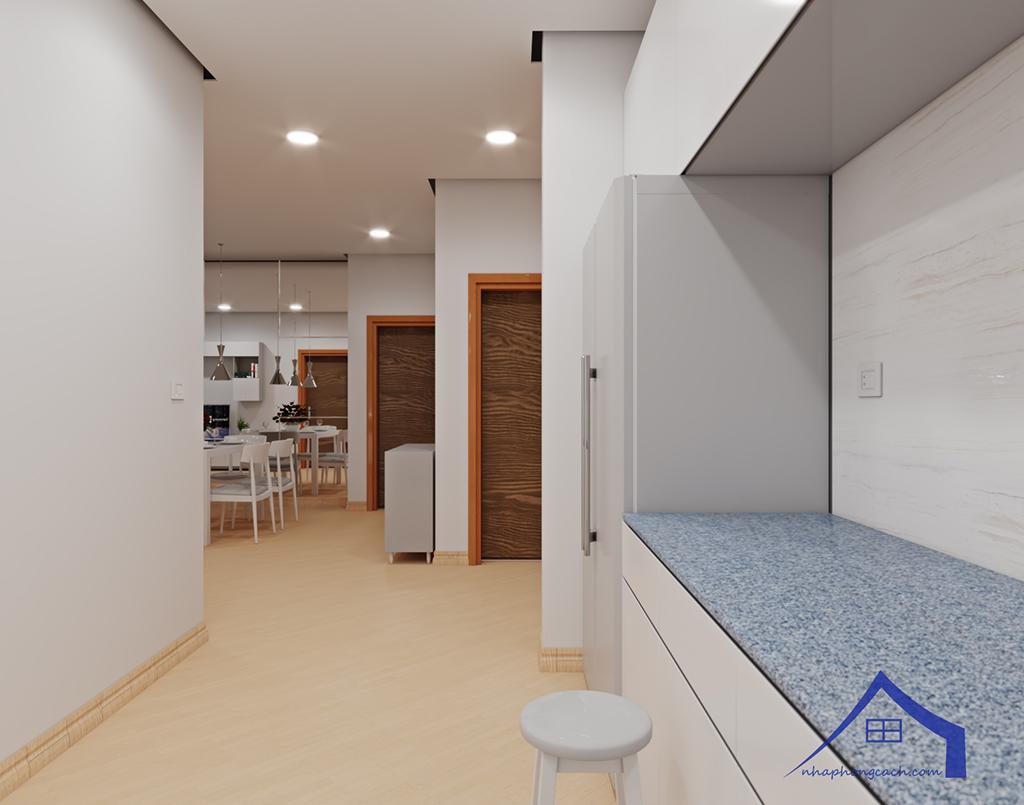 Thiết kế nội thất tối giản chung cư Times City căn 04 & 12 diện tích 95m2 8