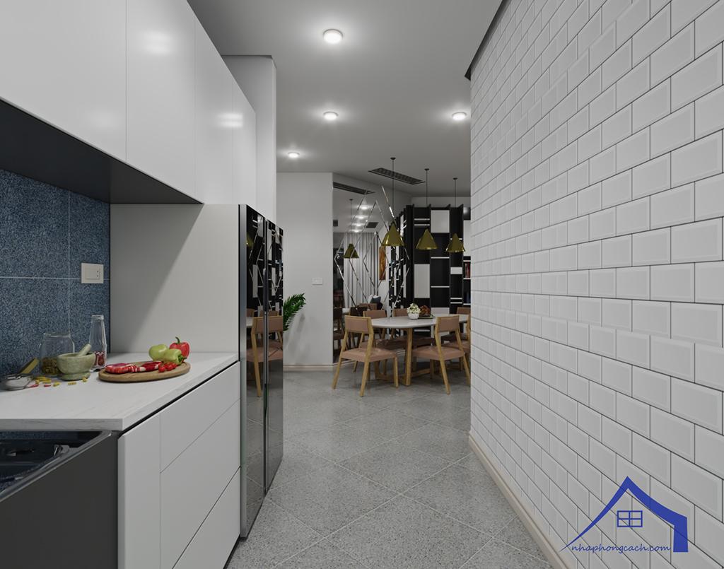 Thiết kế nội thất hiện đại Times City căn 06 & 12 diện tích 117m2 16