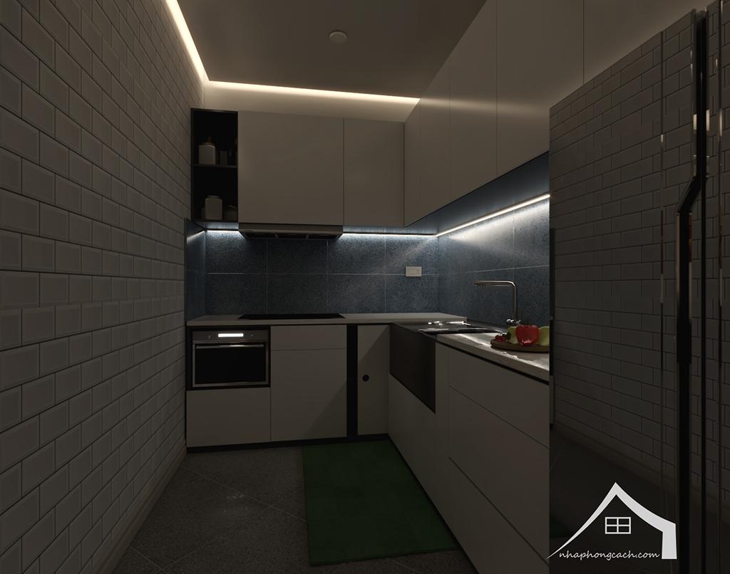 Thiết kế nội thất hiện đại Times City căn 06 & 12 diện tích 117m2 17