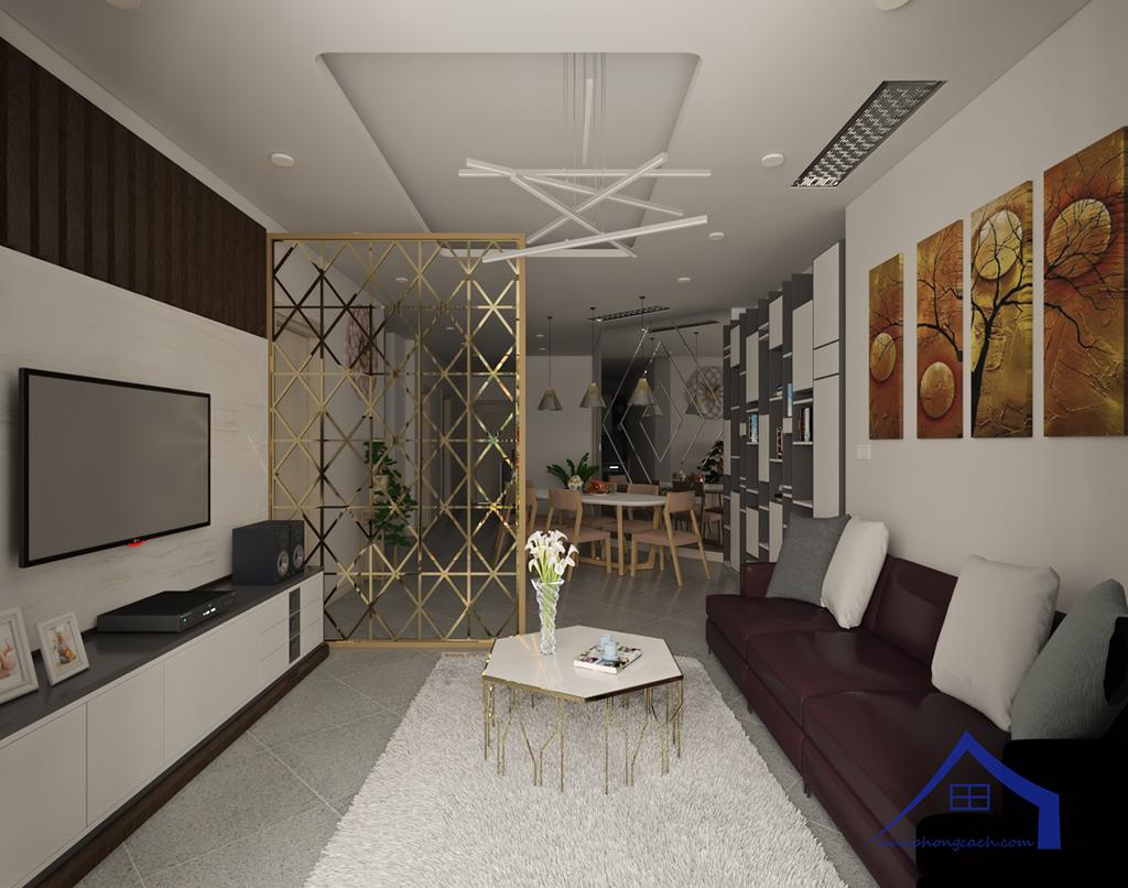 Thiết kế nội thất hiện đại Times City căn 06 & 12 diện tích 117m2 14