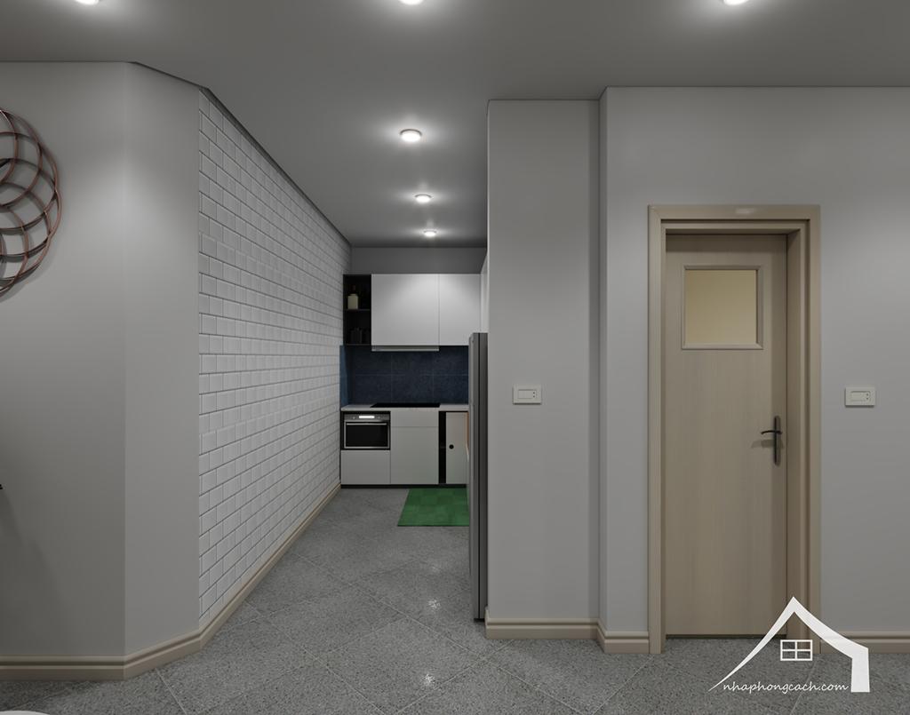 Thiết kế nội thất hiện đại Times City căn 06 & 12 diện tích 117m2 4