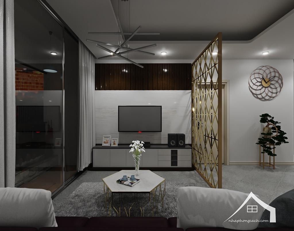Thiết kế nội thất hiện đại Times City căn 06 & 12 diện tích 117m2 9