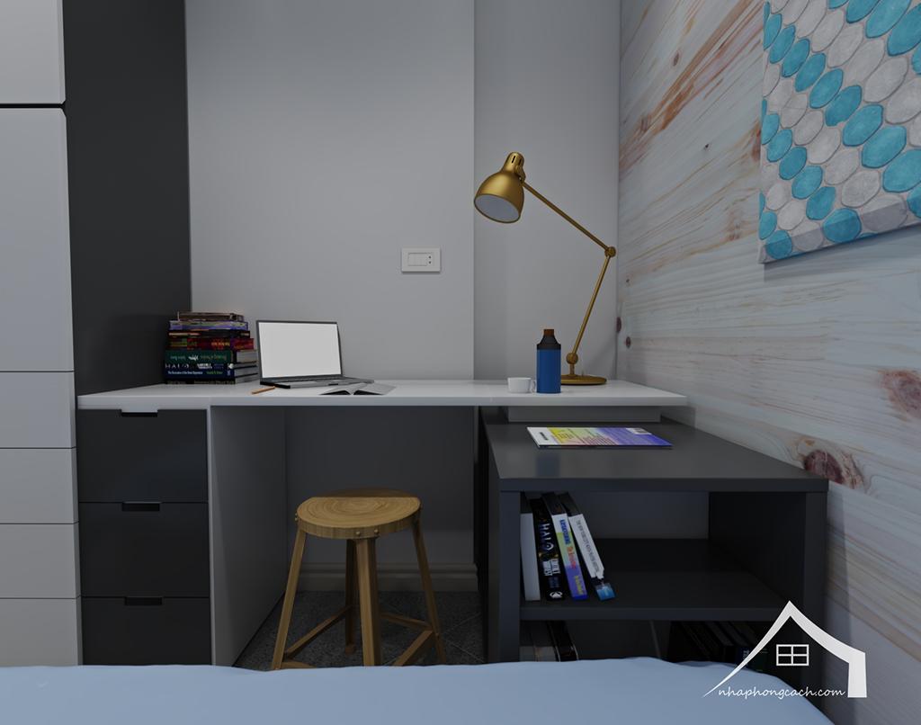 Thiết kế nội thất hiện đại Times City căn 06 & 12 diện tích 117m2 21