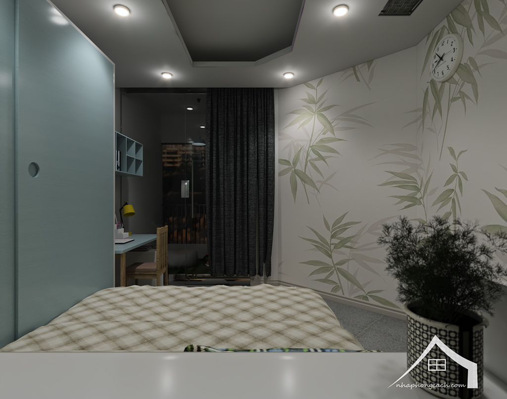 Thiết kế nội thất hiện đại Times City căn 06 & 12 diện tích 117m2 24
