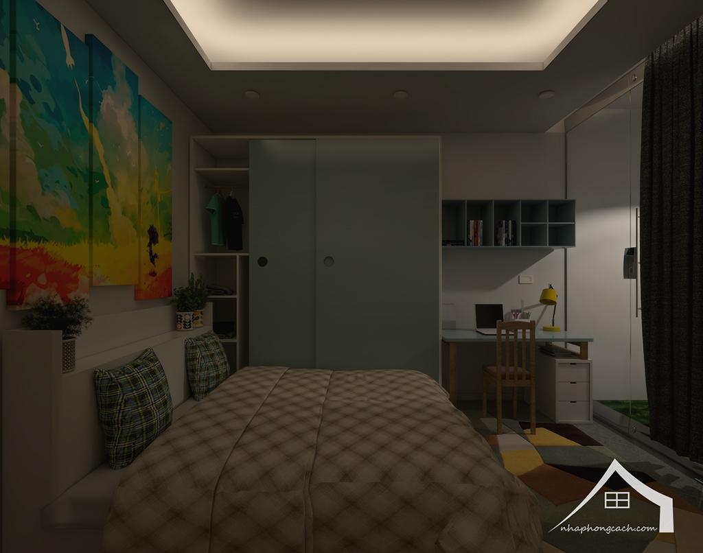 Thiết kế nội thất hiện đại Times City căn 06 & 12 diện tích 117m2 26