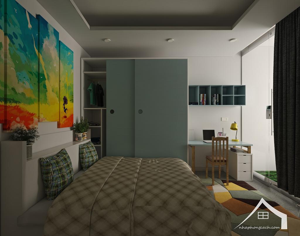 Thiết kế nội thất hiện đại Times City căn 06 & 12 diện tích 117m2 29