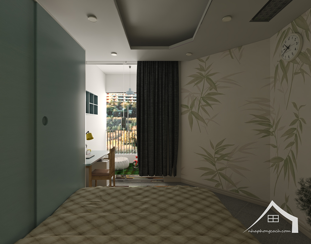 Thiết kế nội thất hiện đại Times City căn 06 & 12 diện tích 117m2 28