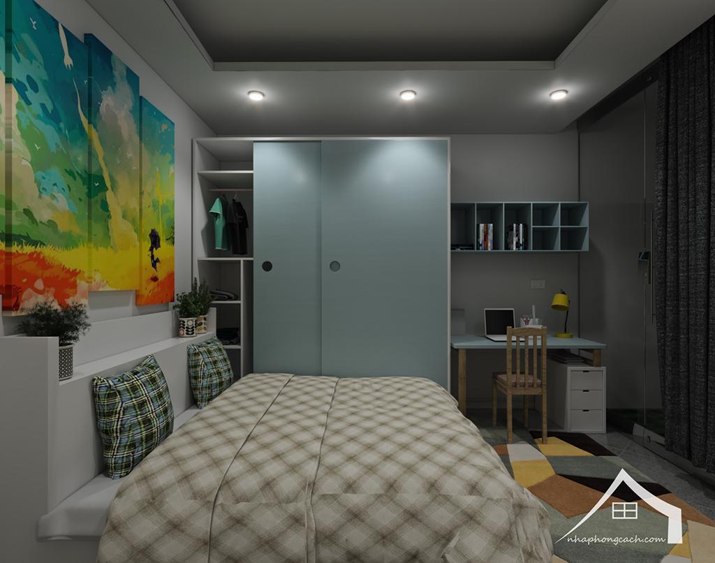 Thiết kế nội thất hiện đại Times City căn 06 & 12 diện tích 117m2 23