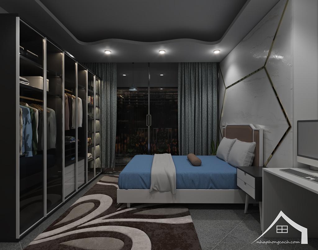 Thiết kế nội thất hiện đại Times City căn 06 & 12 diện tích 117m2 31