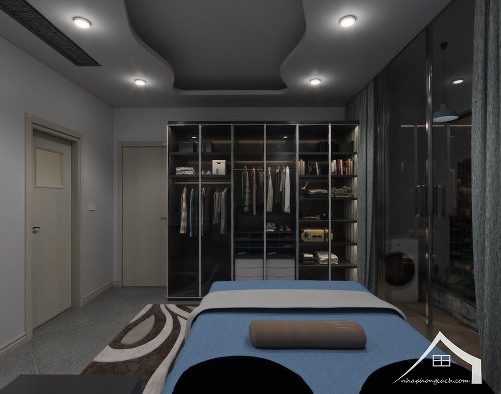 Thiết kế nội thất hiện đại Times City căn 06 & 12 diện tích 117m2 32