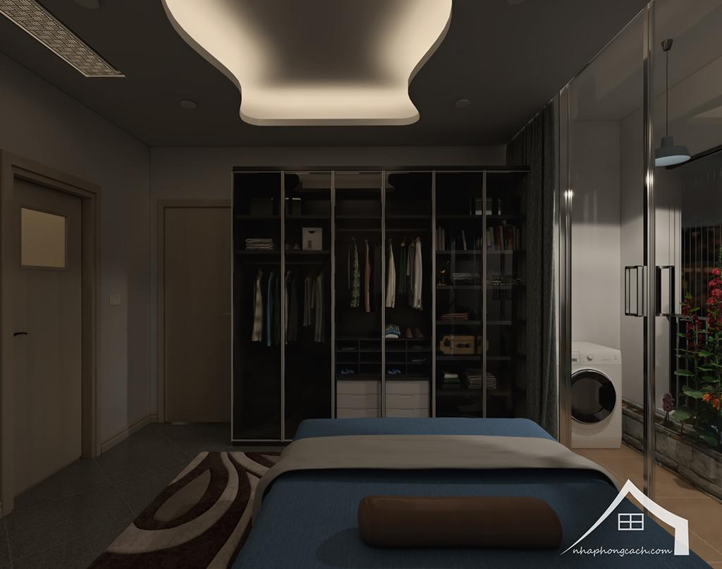 Thiết kế nội thất hiện đại Times City căn 06 & 12 diện tích 117m2 33