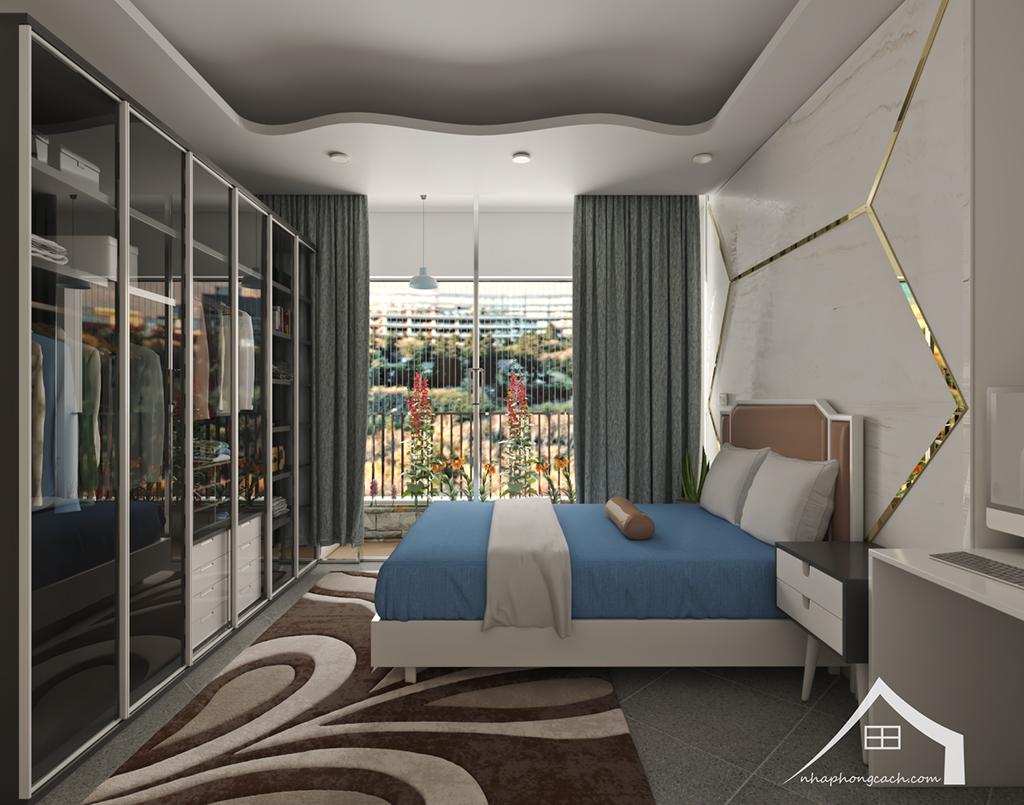 Thiết kế nội thất hiện đại Times City căn 06 & 12 diện tích 117m2 34