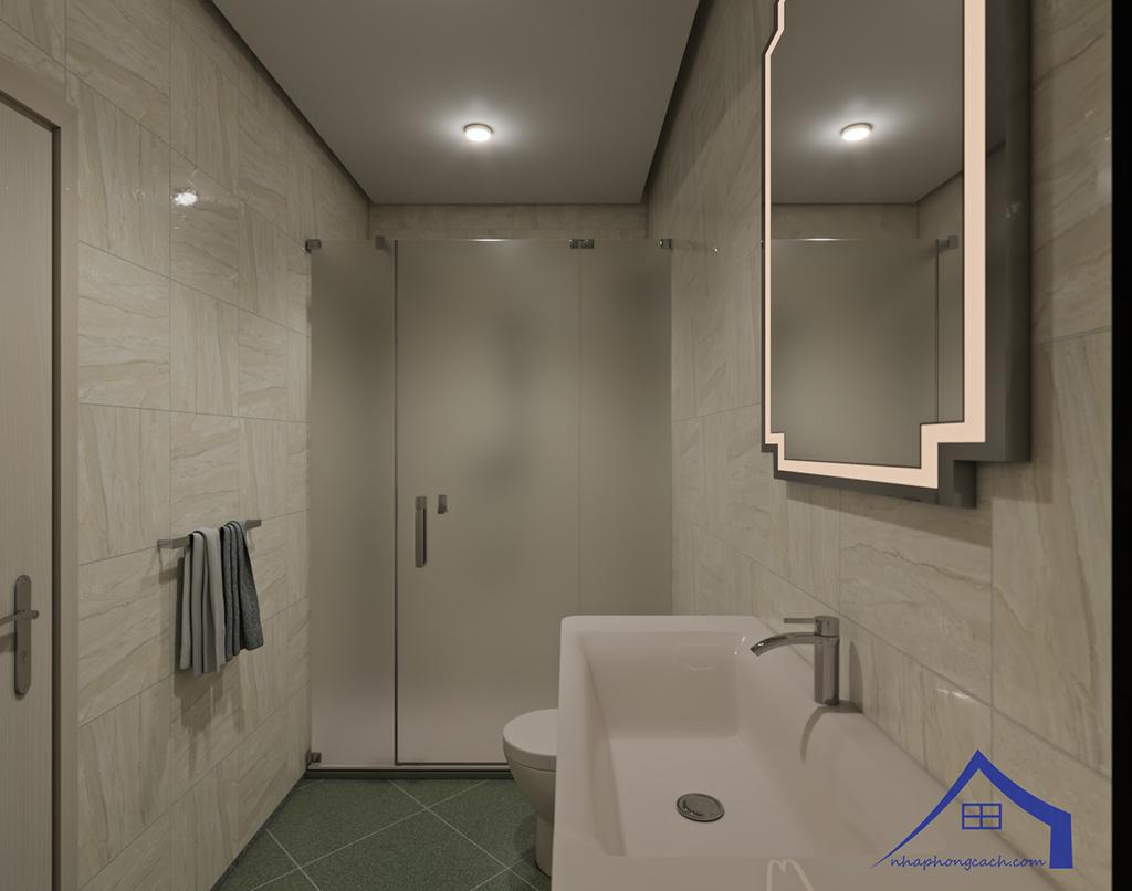Thiết kế nội thất hiện đại Times City căn 06 & 12 diện tích 117m2 37